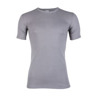 Beeren heren t-shirt korte mouw ronde hals grijs